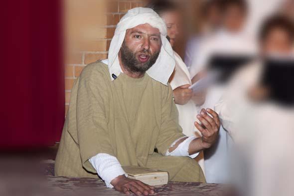 You are browsing images from the article: La Passione di Cristo Pasqua 2012